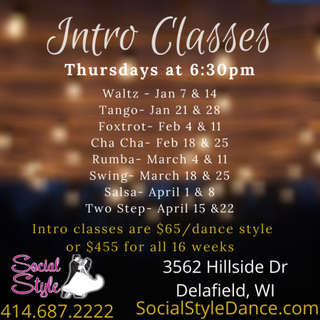 Intro Classes