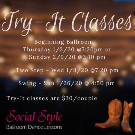 Try A Class!